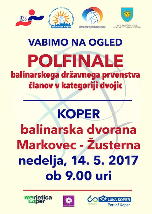 Polfinale DP dvojice na Markovcu!
