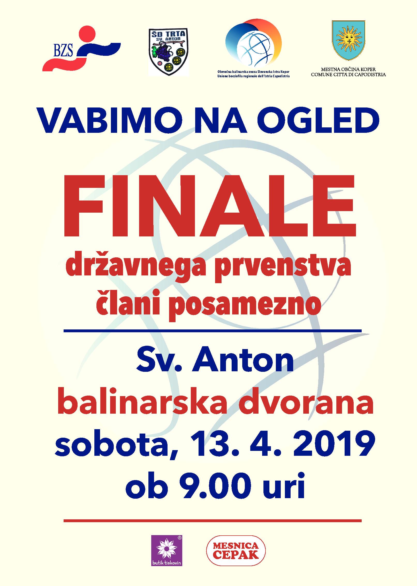 Sv. Anton bo gostil finale DP!