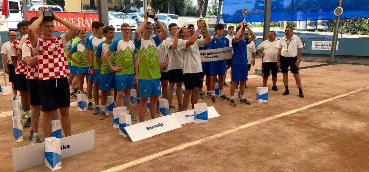 Hrvaška reprezentacija U – 18 zmagala na turnirju Alpe – Adria v Izoli